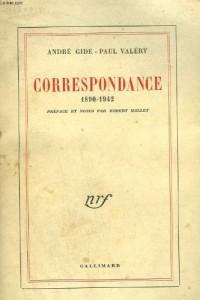 CORRESPONDANCE GIDE/VALERY