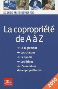 La copropriété de A à Z