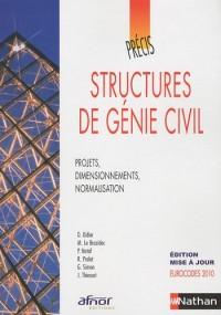 Structures de génie civil : Projets, dimensionnements, normalisation