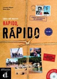 Rapido, rapido (alumno+CD+dele) curso intensivo de español