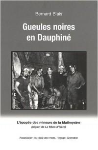 Gueules noires en Dauphiné : L'épopée des mineurs de la Matheysine