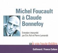 Michel Foucault a Claude Bonnefoy CD