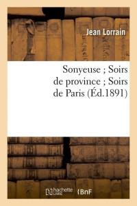 Sonyeuse  Soirs de Province  ed 1891