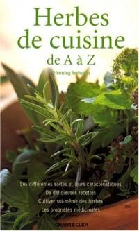 Herbes de cuisine : De A à Z