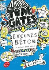 Tom Gates - Tome 2: Excuses béton (et autres plans) [Poche]