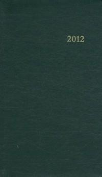 Agenda du Chretien 2012-Vert
