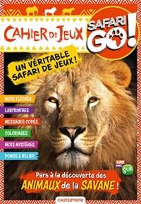 Cahier de jeux lion Safari Go !