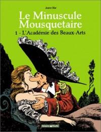 Minuscule mousquetaire - Poisson Pilote, tome 1 : L'Académie des Beaux-Arts