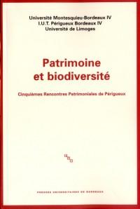 Patrimoine et Biodiversite