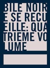 Bile Noire Se Recueille - T4
