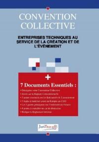 3355. Entreprises techniques au service de la création et de l'évènement Convention collective