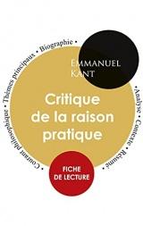 Fiche de lecture Critique de la raison pratique (Étude intégrale)