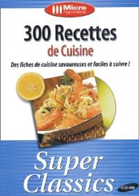 300 recettes de cuisine : CD-ROM