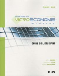 Intro à la microéconomie - guide étudiant