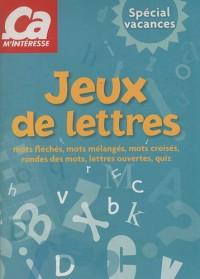 Pochette 2 livres jeux Spécial vacances : Jeux de logique et entraînement cérébral; Jeux de lettres