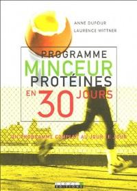 Programme minceur protéines en 30 jours