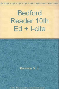Bedford Reader 10th Ed + I-cite
