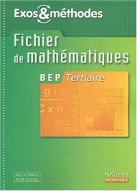 Mathématiques, BEP Tertiaire (Manuel)