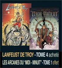 2 BD pour le prix d'1 : Lanfeust de Troy, tome 4 + Arcanes du Midi-Minuit, tome 1