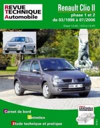Rta 118.1 Renault Clio 2 Phase 1 et 2 Diesel