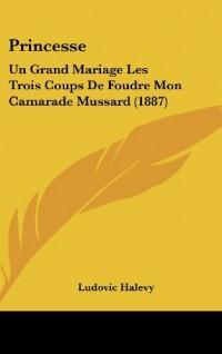 Princesse: Un Grand Mariage Les Trois Coups de Foudre Mon Camarade Mussard (1887)