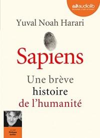 Sapiens - Une brève histoire de l'humanité: Livre audio 2 CD MP3