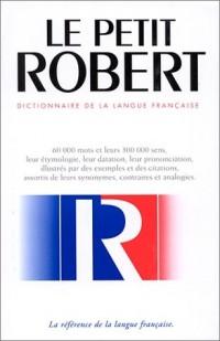 Petit Robert langue française