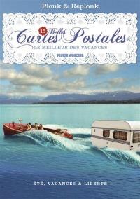 15 belles cartes postales : Le meilleur des vacances