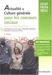 Actualité & culture générale pour les concours sociaux