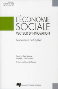 L Economie Sociale Vecteur d Innovation
