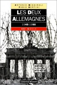 Les deux Allemagnes, 1945-1990