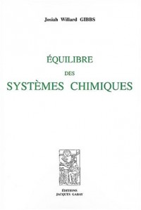 Equilibre des systemes chimiques