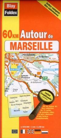 Marseille (13) - Plan de Ville de Poche 2013 - 1/15 000