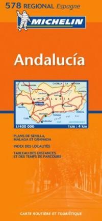 España Andalucía (mapa 578)