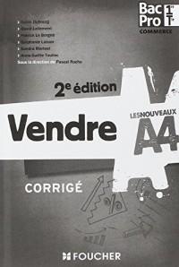 Les Nouveaux A4 Vendre 1re-Tle BAC PRO 2e édition Corrigé