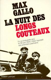 La nuit des longs couteaux (30 juin 1934)