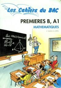 Cahiers bac math 1 eres a1.b/es