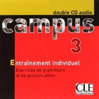 Campus 3, méthode de français : double CD