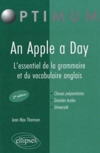 An apple a day - l'essentiel de la grammaire et du vocabulaire anglais