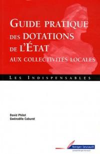 Guide pratique des dotations de l'Etat aux collectivités locales