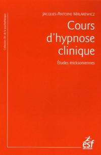 Cours d'hypnose clinique