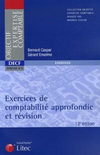 DECF épreuve n°6, Exercices de comptabilité approfondie et révision (ancienne édition)