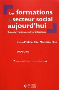 Les formations du secteur social aujourd'hui : Transformations et diversifications