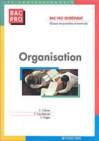 Organisation : Bac pro Secrétariat, 1ère et Terminale