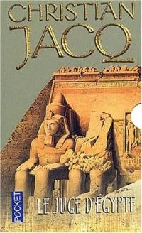 Le Juge d'Egypte (coffret 3 volumes)
