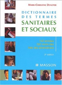 Dictionnaire des termes sanitaires et sociaux