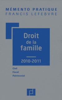 Droit de la famille : Civil, fiscal, patrimonial