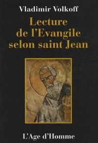 Lecture de l'évangile selon saint Jean