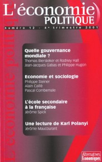 L'économie politique.nø12 quelle gouvernance mondiale