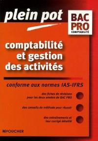 Comptabilité et gestion des activités : Bac pro comptabilité